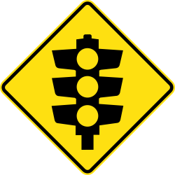 Image of the Traffic Lights Ahead