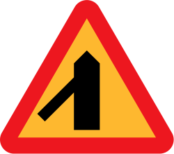 Image of the Swe...Y Intersection Sign