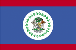 Image of the Flag of Belize