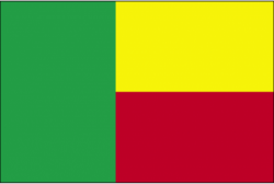 Image of the Flag of Benin