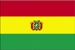 Image of the Flag of Bolivia