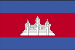Image of the Flag of Cambodia