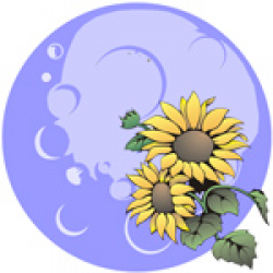 Image of the Flower Moon Sign