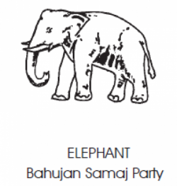 The Bahujan Samaj Party (BSP) - Elephant