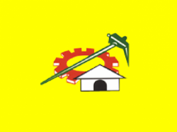 Image of the Flag of the Telugu Desam Party