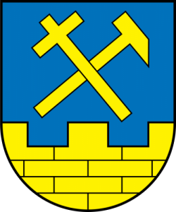 Arms of Niesky, Saxony, Germany