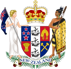 Image of the Coat of arms of New Zealand