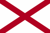 Image of the Flag of Alabama