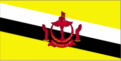 Image of the Flag of Brunei