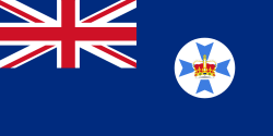 Image of the Flag of Queensland