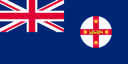 Image of the Flag of New South Wales