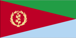 Image of the Flag of Eritrea