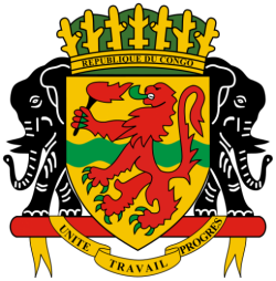 coat of arms of the republic of the congo. Black Bedroom Furniture Sets. Home Design Ideas