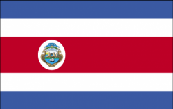 Image of the Flag of Costa Rica