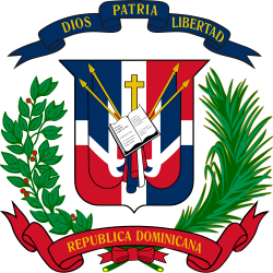 Image of the Coat of arms of the Dominican Republic