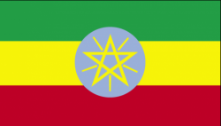 Image of the Flag of Ethiopia