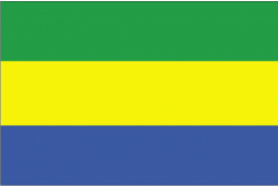 Flag of Gabon