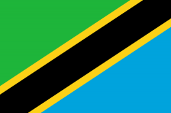 Image of the Flag of Tanzania