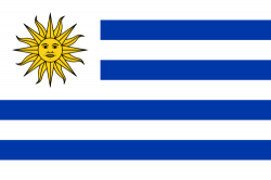 Image of the Flag of Uruguay