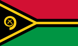 Image of the Flag of Vanuatu
