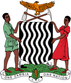 Image of the Coat of arms of Zambia