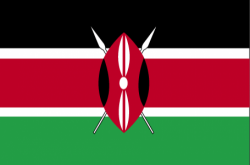 Image of the Flag of Kenya