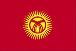 Image of the Flag of Kyrgyzstan