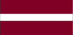 Image of the Flag of Latvia