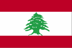 Image of the Flag of Lebanon