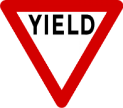 Image of the Yield Sign