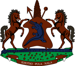 Coat of arms of Lesotho
