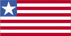 Image of the Flag of Liberia