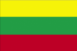 Image of the Flag of Lithuania
