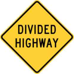 Image of the Divided Highway Ahead