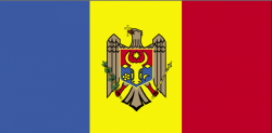 Image of the Flag of Moldova