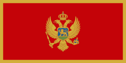 Image of the Flag of Montenegro