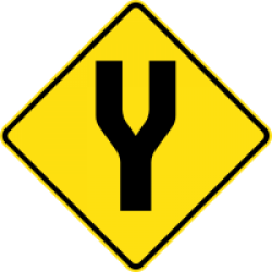 Image of the Divided Road Ahead
