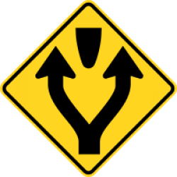 Pass left or right of obstacle