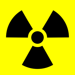 Image of the Radioactive trefoil symbol
