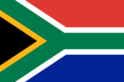 Image of the Flag of South Africa