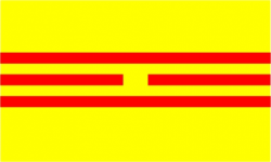 Flag of the Empire of Vietnam (1945)