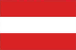 Image of the Flag of Austria