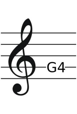Image of the Treble Clef