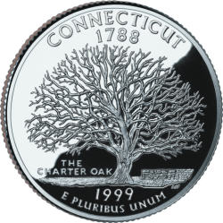 Connecticut (50 State Quarter)