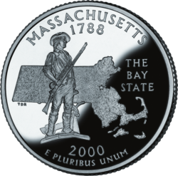 Massachusetts (50 State Quarter)