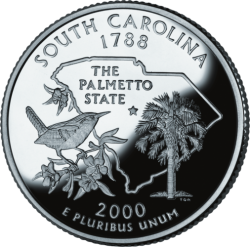 South Carolina (50 State Quarter)