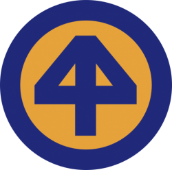 44th Infantry Division Shoulder Patch