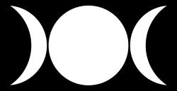 Triple Goddess Symbol