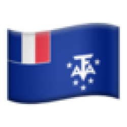 French Southern Territories (Apple iOS 10.3)
