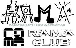 RAMA CLUB- Robotics Arts Music & Animation - public domain logos